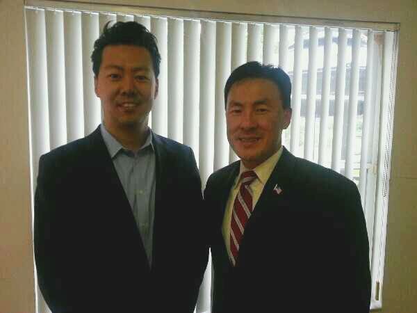 Steve Suh with Delegate Mark Keam 2.jpg